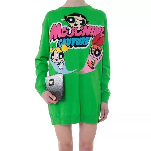 853c8e8dce Moschino Dresses | Couture Jeremy Scott Powerpuff Dress | Poshmark